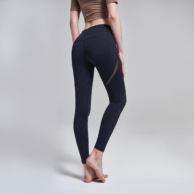 Mesh booty shaping sport athletic legging