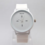 Silicone Sport Quartz Watch Couple Ultra Slim Casual Watch