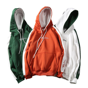 Spring Autumn Street Hip hop Casual Men Hoodies