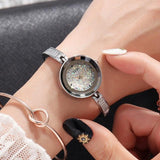 Brand Exquisite Bracelet Watch Women Fashion Elegant Quartz Watch