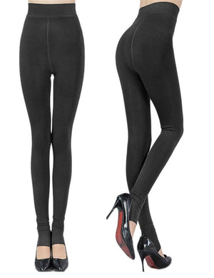 Women Plus Thick Velvet Warm Leggings Autumn Winter