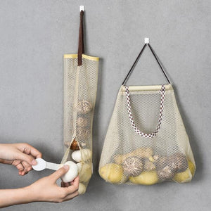Wall Hanging Storage Bags for Fruit and vegetable