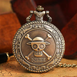 Men's Japan Cartoon Anime One Piece Pocket Watch