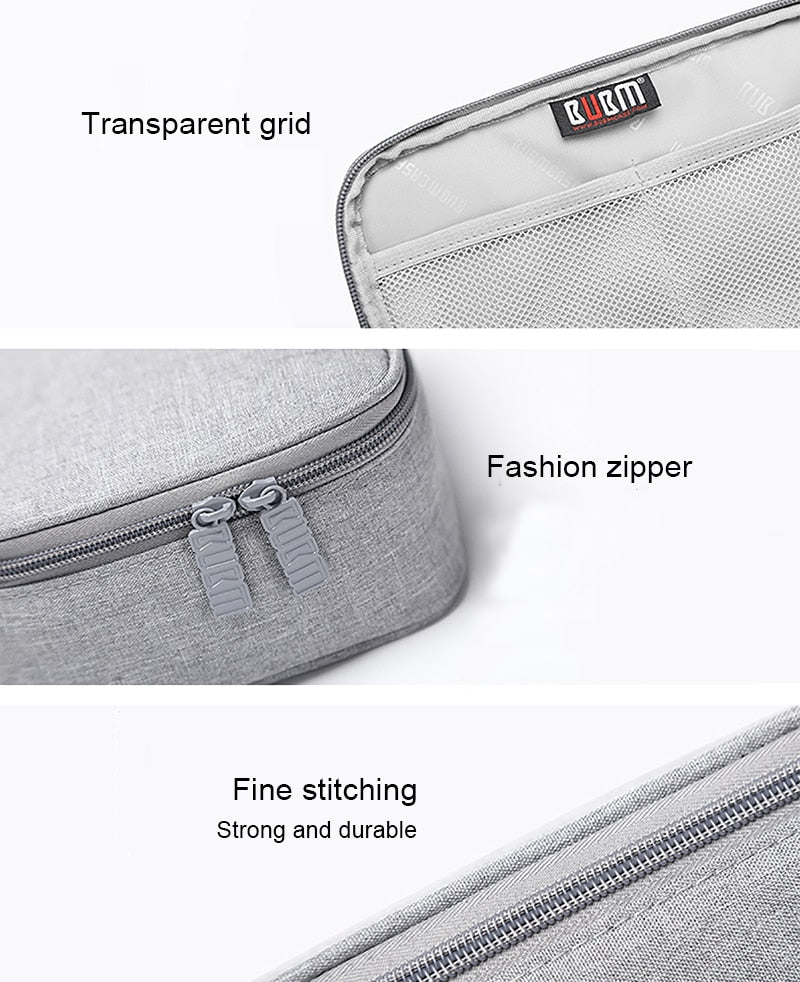 Travel Electronics Accessories Cable Organizer Bag