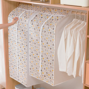 3D Zipper Dust Clothes Cover Storage Wardrobe Suit Bags
