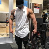 shirt gym Tank Tops stringer Mens Vest fitness