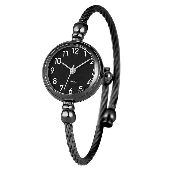 Unique Bracelet Watch Little Smooth Dial Top Retro Style