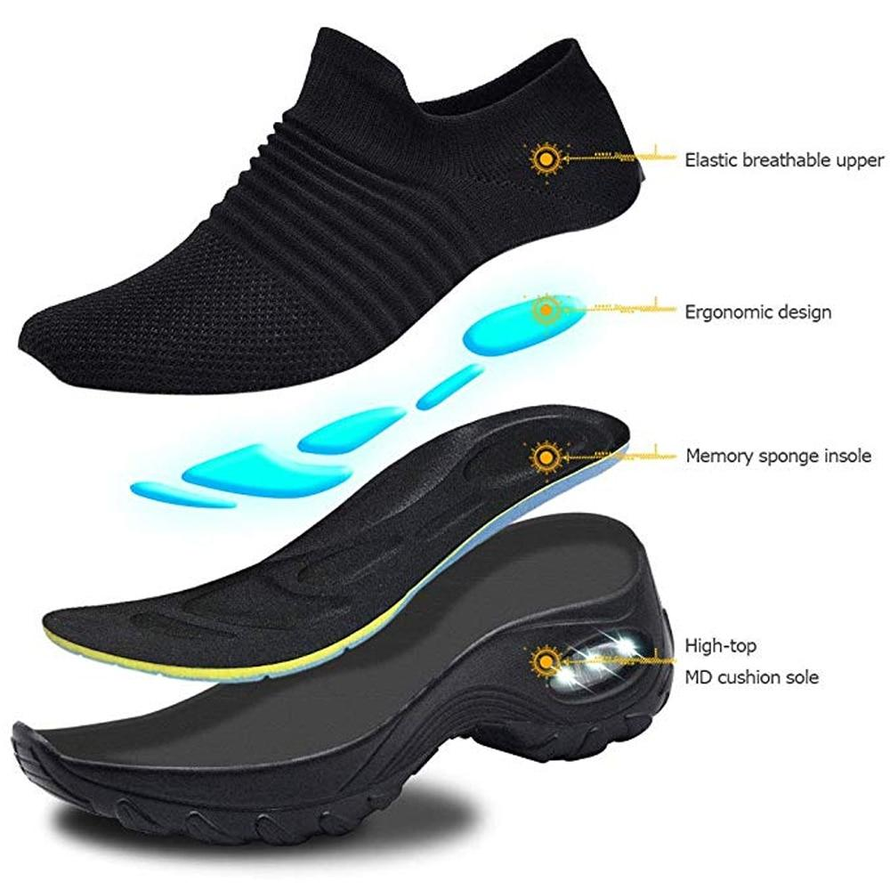 Mesh Outdoor Running Couples Breathable Soft Athletics Jogging Sneaker