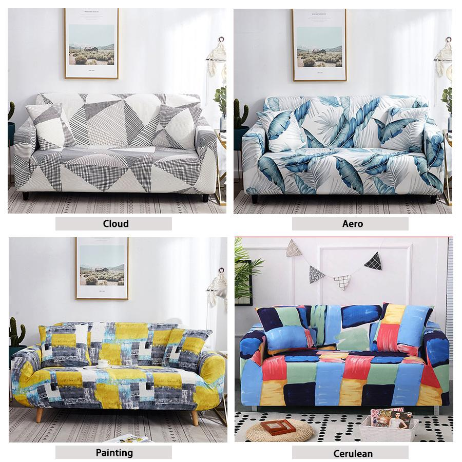 Armchair Spandex for Living Room Sofa Elastic Couch Cover