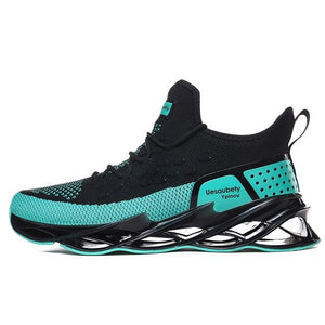 Running Jogging Walking Shoes  Lace-up Breathable Blade Sneakers