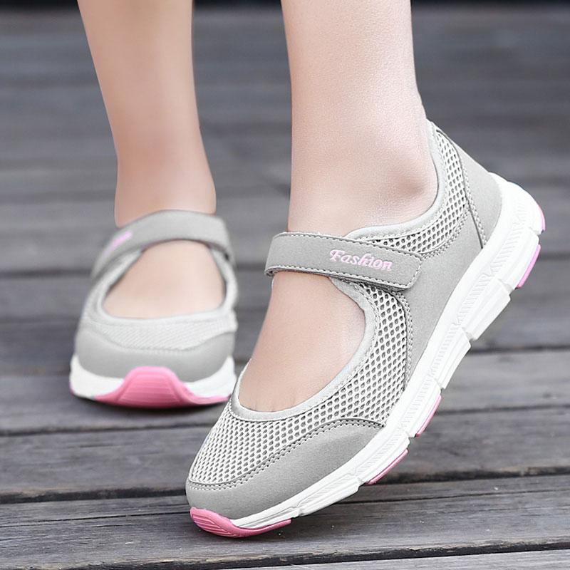 Sneakers Summer Casual Shoes Flat Vulcanize Female Platform
