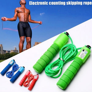 2.5m Sponge Handle Skipping Counter Crossfit Jumping Rope