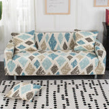Floral Printing Elastic Slipcovers Sofa Covers
