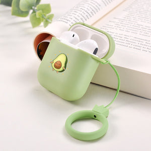 Candy Colors Soft Silicone Case For Apple Air Pods