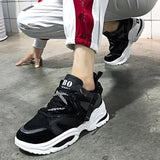 Stylish Casual Shoes Lovers Leather Dad Platform Chunky Sneakers