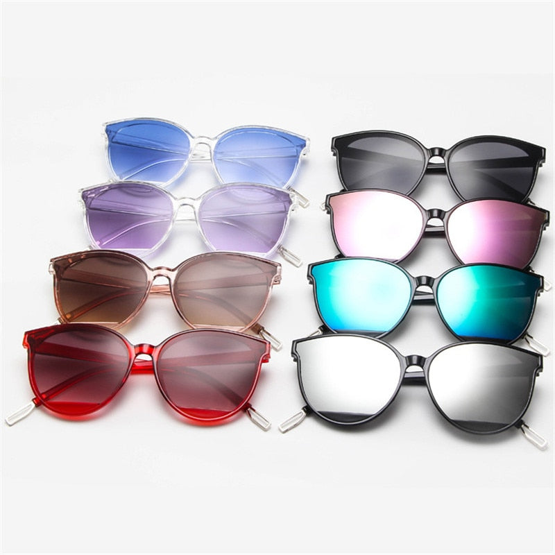 Fashion Vintage Luxury Brand Glasses Mirror Classic Sunglasses