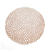 Round Coaster Insulation Table Mats