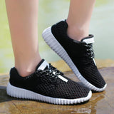 Mesh Women Flat Shoes Lightweight Sneakers Breathable