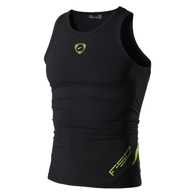 Men's Quick Dry Slim Fit Sleeveless Sport Tank Tops Shirts Workout Running