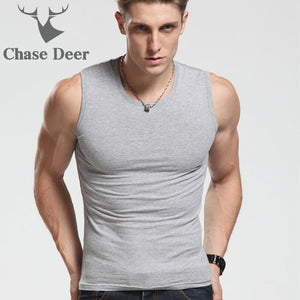 Fitness Sleeveless Vest Men Tank Tops