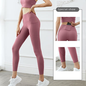 Yoga Set Yoga Leggings Clothes High Waist Gym Workout