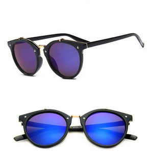 Vintage Rivets Sunglasses Candy Color Classic Outdoor Travel