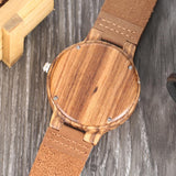 Creative Simple Wood Watches Men's Watch