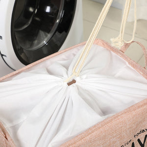 Foldable Laundry Basket Portable Dirty Clothes Organizer