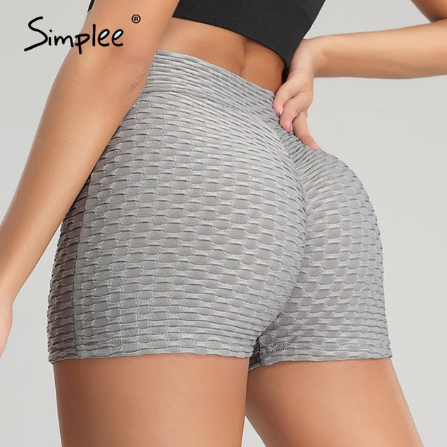 Push Up Summer Workout Shorts Casual Style Mini Shorts
