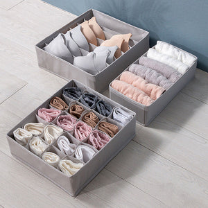 1 Set Underwear Storage Box Household Drawer Storage