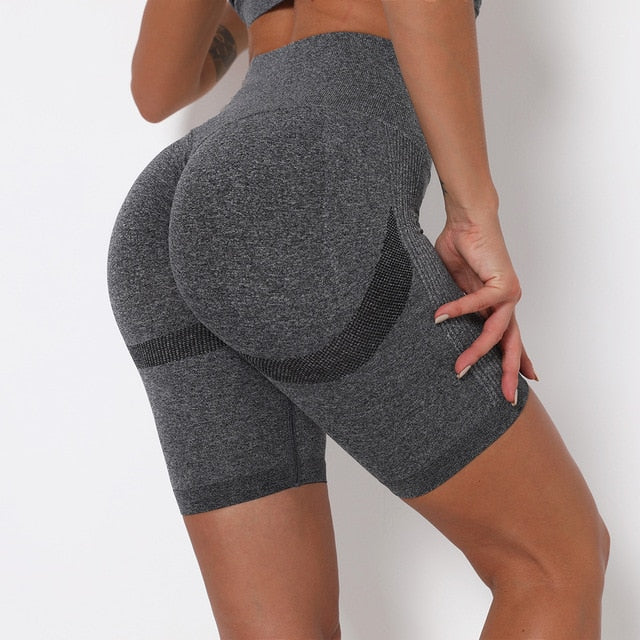 High Waist Seamless Leggings Fitness Running Gym Pants
