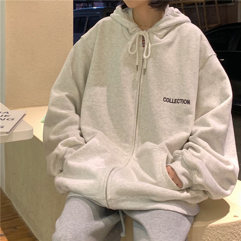 Hoodies Women Loose Casual Sweatshirt Outerwear