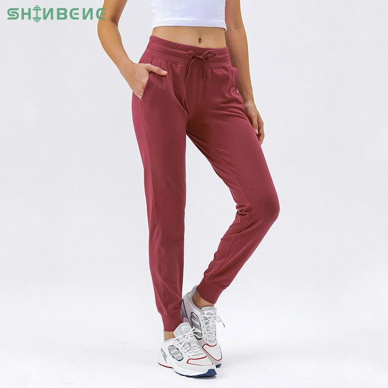 Fabric Workout Sport Joggers Pants Fitness Running