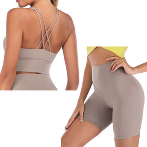 Yoga Set Short Fitness Set Yoga Outfit