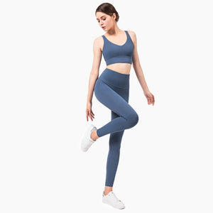 Yoga Set Fabric Fitness Sports Outfit Yoga Leggings