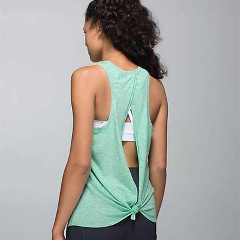 Yoga Tank Tops  Quick-dry  Exercise Workout Gym
