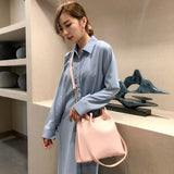 Fashion Handbag pu Leather Women Shoulder Bags