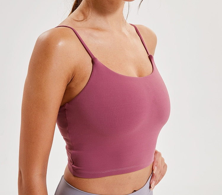 Soft Sports Bra Gym Fitness Bra Tank Tops