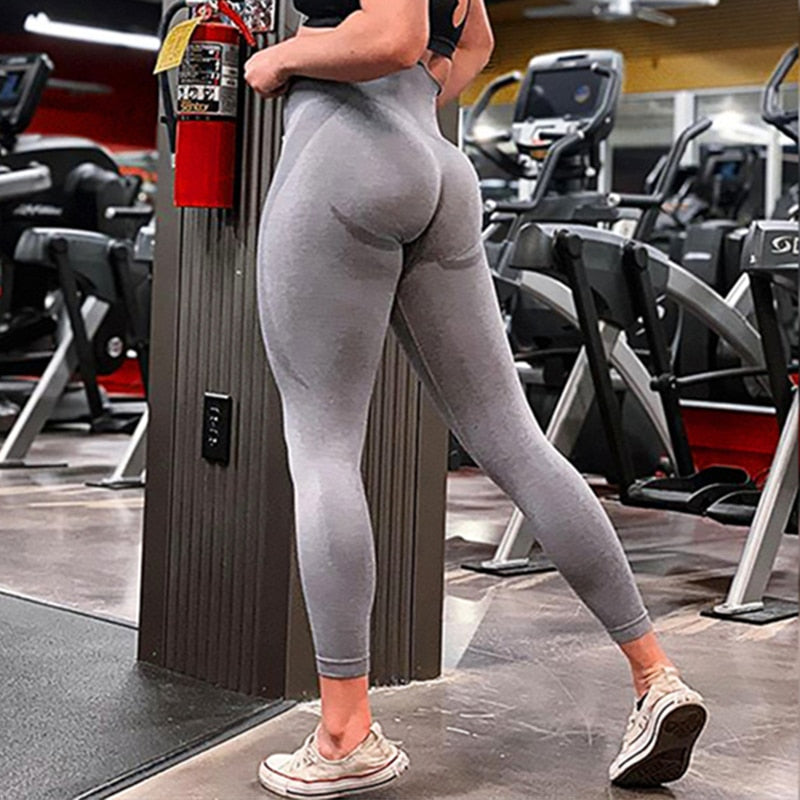 Seamless Fitness Leggings High Waist Sports