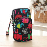 Small Shoulder Bags Nylon Women Mobile Phone Bags