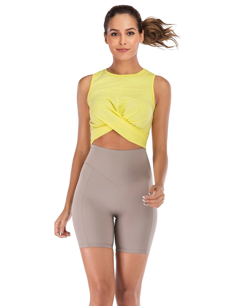 Sports Shorts Woman Spandex Yoga Shorts