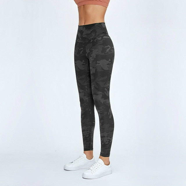 CLASSIC  Camo Panther Geometric Fitness Workout Leggings