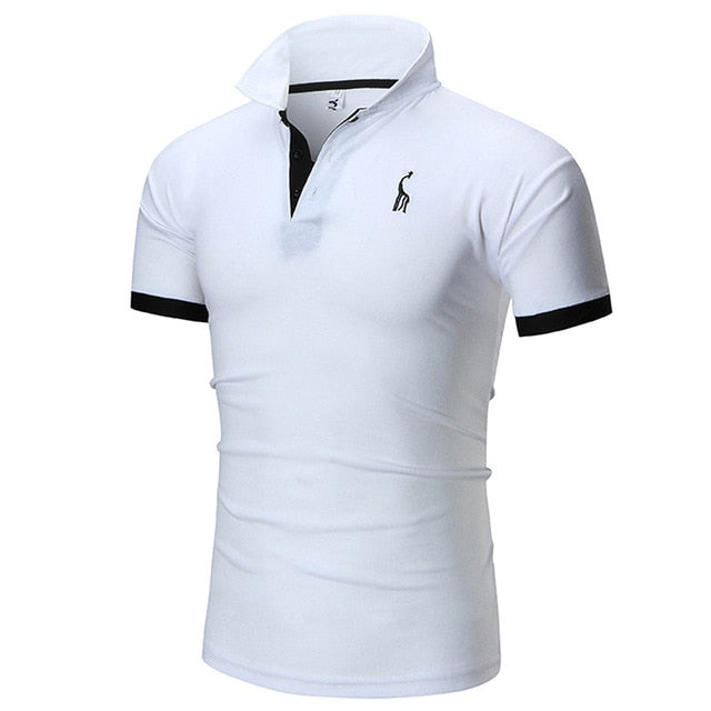 men's polo shirts casual short sleeve polo shirt