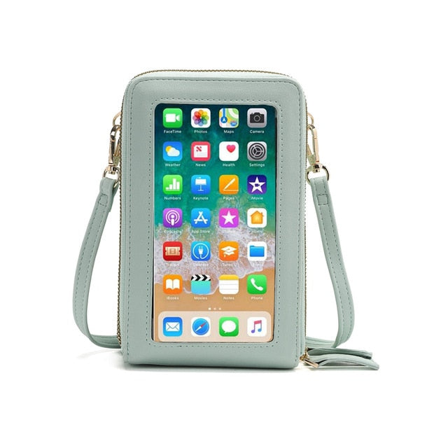 Crossbody Cellphone Purse Women Touch Screen Bag