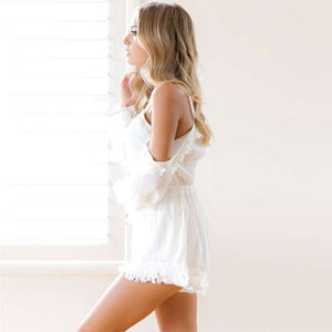 Casual Camis Playsuit Cut Out Sexy Bodysuit Women Shorts Boho Jumpsuit