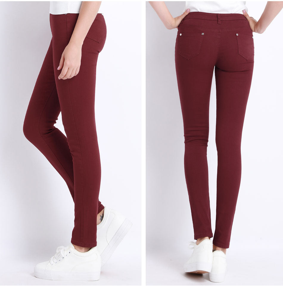Donna Stretch Bottoms Skinny Pants