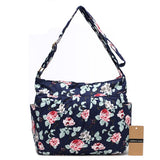 Vintage Capacity Floral Cotton Shoulder Bag