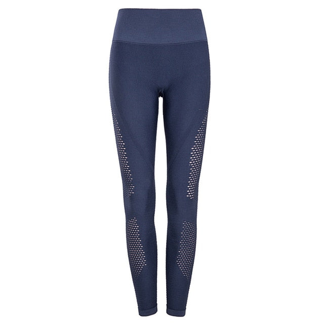 Side Hollow High Rise Tights Sports Pants
