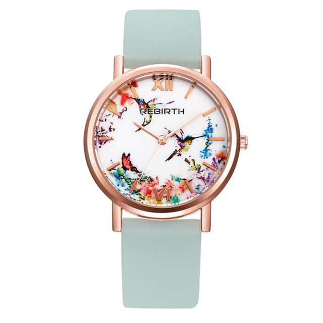 Rose Gold Luxury Casual Ladies Watch