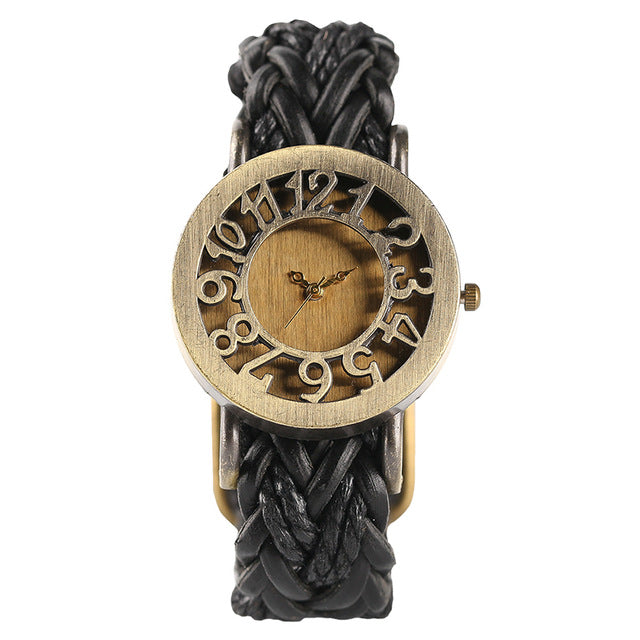 Bohemian Style Vintage Numbers Women Dress Watch